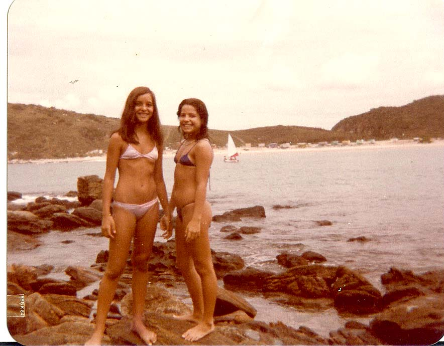 Dany e Lali em Angra