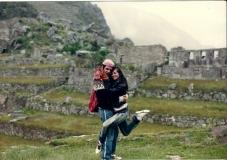Com Raul no Peru