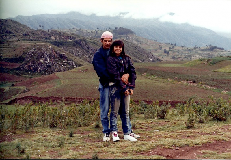 com Raul viagem Peru
